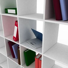 Book Shelf Royalty Free Stock Images