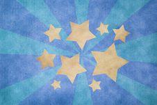 Grunge Star Paper