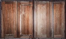 Free Thai Old Wooden Window Stock Photo - 26697560