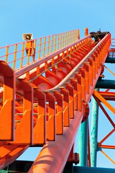 Free Roller Coaster Track Royalty Free Stock Photo - 26697935