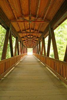 Bridge Into The Light Royalty Free Stock Photos