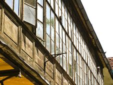 Free Very Old Windows Royalty Free Stock Photo - 2670275