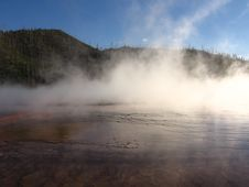 Free Hot Springs In Yellowstone Stock Images - 2670874