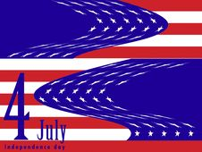 Free 4 July, Independece Day Royalty Free Stock Photo - 2671035