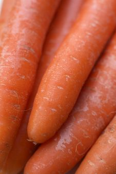 Free Organic Uncooked Carrots Stock Image - 2671271
