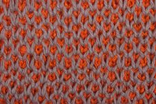 Pattern From A Wool Royalty Free Stock Photography