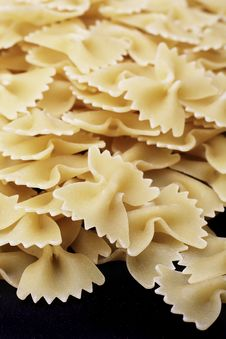 Free Farfalle Pasta Shapes Stock Photography - 2671912
