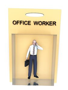 Free Toy Worker 165 Royalty Free Stock Images - 2671939