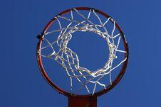 Free Basketball Hoop Stock Photo - 2672350
