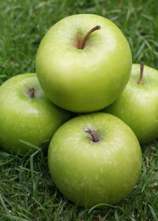 Free Granny Smith Apples Royalty Free Stock Photo - 2672435