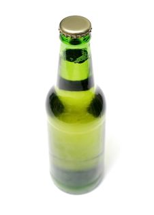 Bottle Of Lager Royalty Free Stock Image