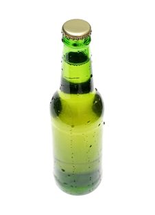 Free Bottle Of Lager Stock Photo - 2672460