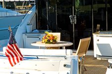 Private Luxury Yacht Royalty Free Stock Photos