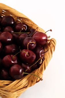 Free Cherries Basket Stock Photos - 2674273
