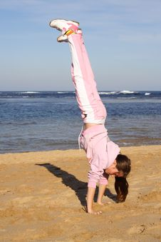 Free Handstand Royalty Free Stock Photos - 2674488