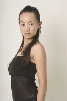 Free Glamor Chinese Girl Royalty Free Stock Photography - 2674657