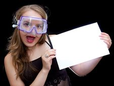 Free Girl In Mask Stock Photos - 2674793