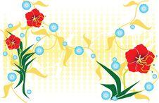 Free Flower Design 3 Royalty Free Stock Photos - 2675518