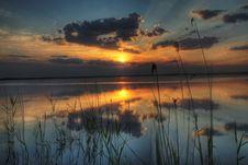 Free Evening At A Lake Stock Image - 2676341