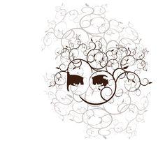 Free Eyes And Swirls Illustration Royalty Free Stock Images - 2676799