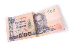 Free 500 Thai Baht Stock Photos - 2676923