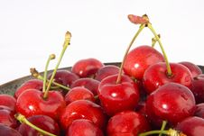 Free Cherries Plate Stock Photography - 2678152