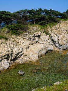Free Seaside Rock Royalty Free Stock Photos - 2679508
