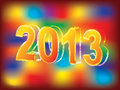 Free New Year 2013 Background Stock Photo - 26700100