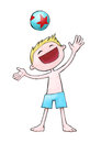 Free Star Ball Kid Stock Images - 26704024
