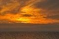 Free Flaming Sunset Stock Image - 26705481