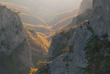 Free Grand Canyon Of Crimea Royalty Free Stock Images - 26701799