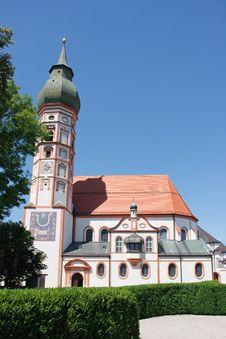 Free Flamboyant Baroque Church Royalty Free Stock Images - 26703719
