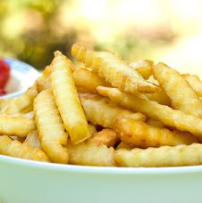 Free Fresh French Fries Royalty Free Stock Photo - 26704665