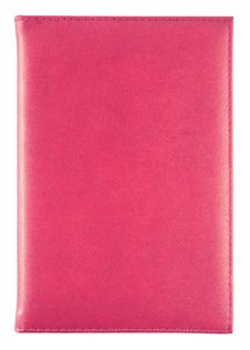 Free Red Leather Notebook Isolated Stock Image - 26707551
