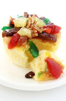 Free Fruit Cake Royalty Free Stock Image - 26707706