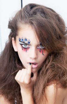 Free Fashion Style Creative Actress - Mime Stock Photo - 26708980