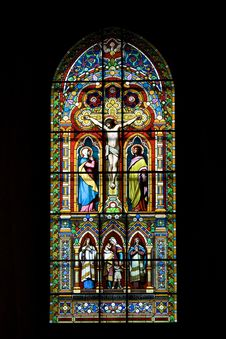 Colourful Stained Glass Stock Photos