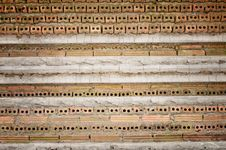 The Layer Of The Brick Walls Construction Stock Photo