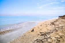 Free Dead Sea Coast, Israel Stock Photo - 26718280