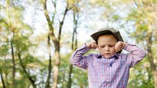 Free Upset Little Boy Stock Images - 26718644