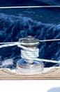 Free Hoist The Jib Sheet Royalty Free Stock Photo - 26728605