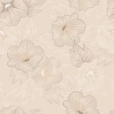 Free Vector Floral Seamless Pattern Royalty Free Stock Photo - 26720255