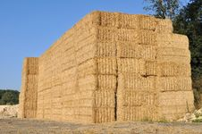 Free Bales Stacked On Each Other Royalty Free Stock Photos - 26721528