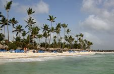 Free Bavaro Beach Dominicana Stock Photo - 26724470