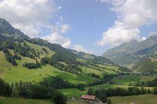 Free Swiss Mountain Landscape Stock Photography - 26727642