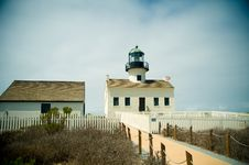 Free Point Loma Lighthouse Stock Photo - 26728350