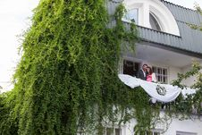 Free Young Couple On Balcony Stock Photo - 26729950