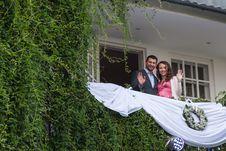 Free Young Couple On Balcony Stock Image - 26729951
