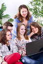 Free Young People With Laptop Stock Photography - 26731412