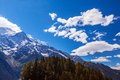 Free Snow Covered Mountains And Rocky Peaks In The Alps Stock Photography - 26735912